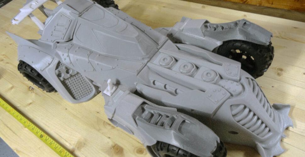 Batmobile printed