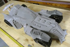Batmobile printed
